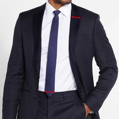 juiste stropdas breedte