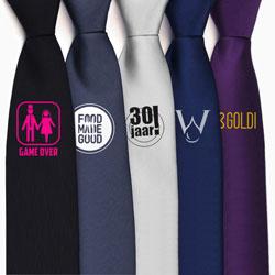 stropdassen bedrukken
