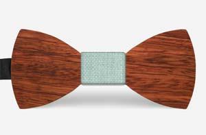 houten vlinderdassen
