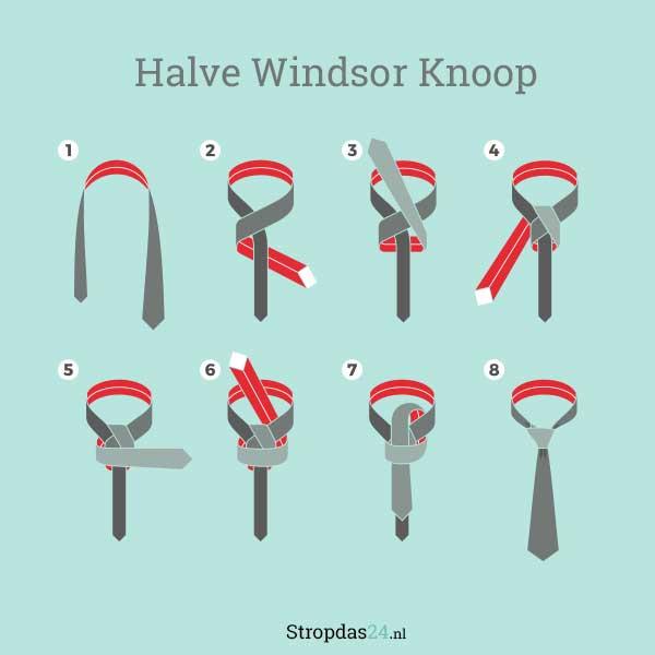 Halve Windsor Knoop