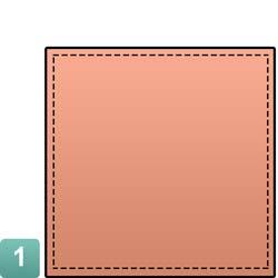 pochet-vouw-presiendieel-stap1