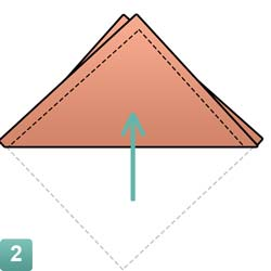 pochet-vouw-2punts-stap2