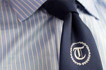 Kan ik een stropdas laten borduren