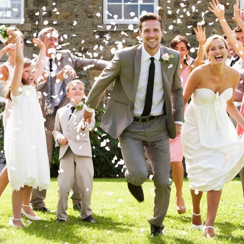 zwarte stropdas bruiloft