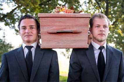 Stropdas begrafenis