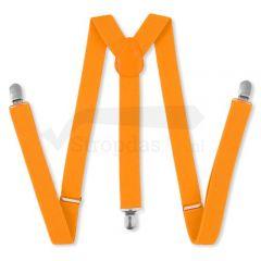 heren bretels fluor oranje