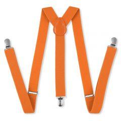 heren bretels oranje