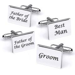 bruiloft manchetknopen best man groom