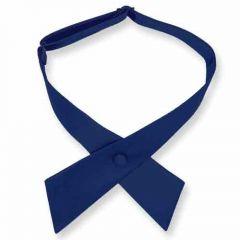 dames stropdas strik donkerblauw