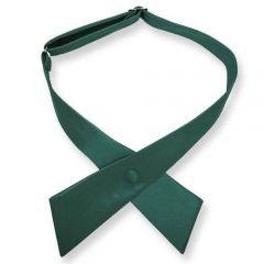 dames stropdas strik donkergroen