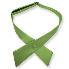 dames stropdas strik gras groen