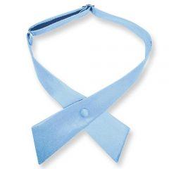 dames stropdas strik lichtblauw