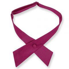 dames stropdas strik shocking violet