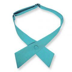 dames stropdas strik turquoise