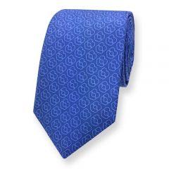 lichtblauwe stropdas ExvE blauw