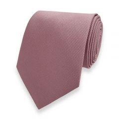 stropdas rosé goud fine line strepen