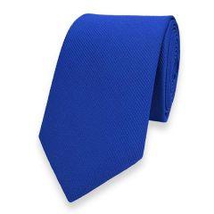 smalle stropdas blauw fine line