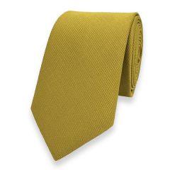smalle stropdas goud fine line