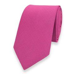 smalle stropdas hot pink fine line