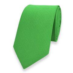smalle stropdas lichtgroen fine line