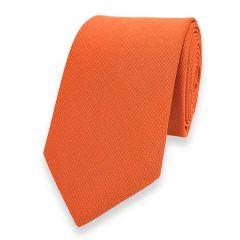 smalle stropdas oranje fine line