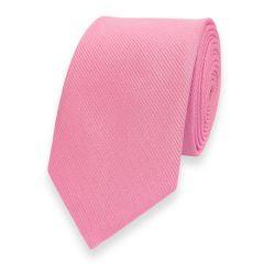 smalle stropdas roze fine line