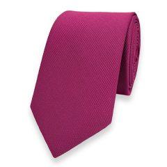 smalle stropdas shocking violet fine line