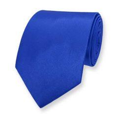 stropdas blauw effen