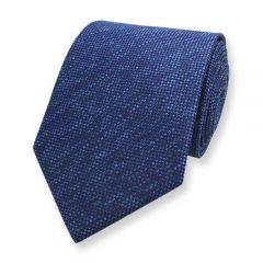 stropdas donkerblauw blauw strepen