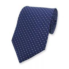 stropdas donkerblauw diamant