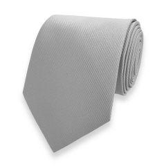 stropdas zilver met fine line strepen