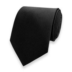 stropdas zwart fine line strepen