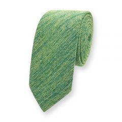 stropdas katoen groen geel