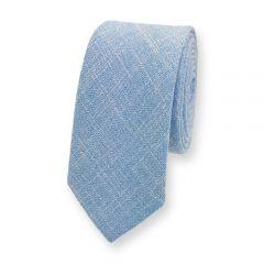 stropdas katoen lichtblauw
