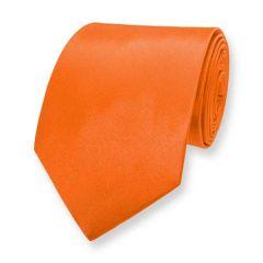 stropdas oranje effen