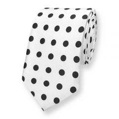 stropdas wit polka dots ExvE