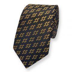 stropdas zwart goud ExvE