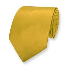 stropdas goud effen