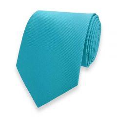 stropdas turquoise fine line strepen