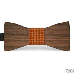 vlinderstrik hout f064