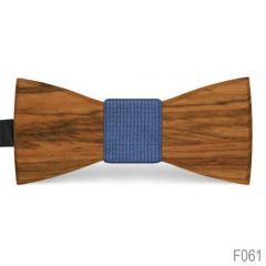 houten vlinderstrik f061