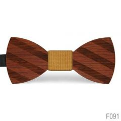 houten strik f091