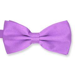 vlinderstrik violet effen