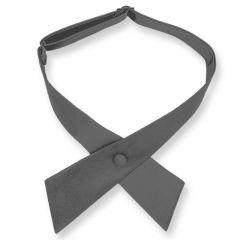 dames stropdas strik grafiet