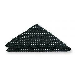 pochet zwart wit polka dots